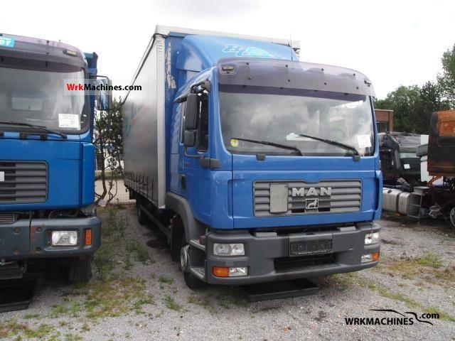 2006 MAN TGL 12.210 Truck over 7.5t Stake body and tarpaulin photo