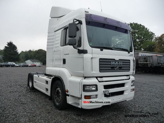 2006 MAN TGA 18.440 Semi-trailer truck Standard tractor/trailer unit photo