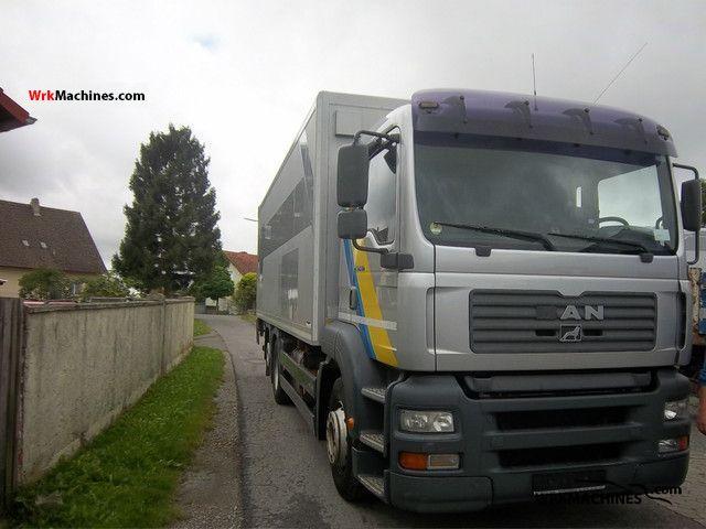 2003 MAN TGA 26.410 Truck over 7.5t Refrigerator body photo