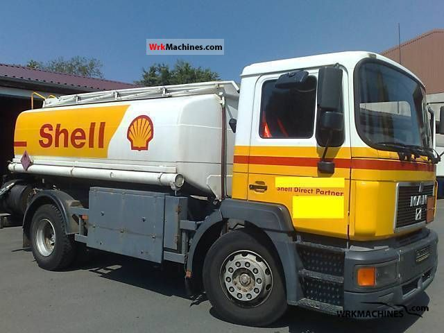 1996 MAN NM 182 Truck over 7.5t Tank truck photo