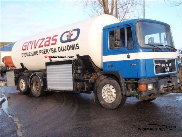 1993 MAN M 90 18.232 Truck over 7.5t Tank truck photo