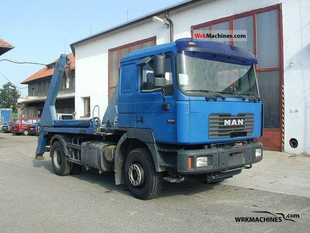 1999 MAN F 2000 19.414 FK Truck over 7.5t Dumper truck photo