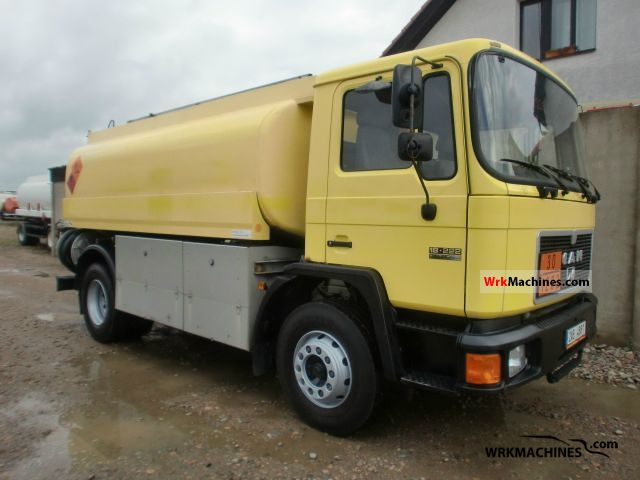 1994 MAN M 90 18.222 Truck over 7.5t Tank truck photo