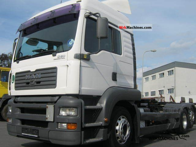 2005 MAN TGA 26.390 Truck over 7.5t Swap chassis photo