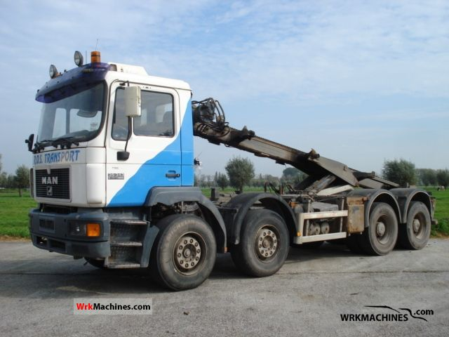 1998 MAN F 2000 35.343 Truck over 7.5t Roll-off tipper photo