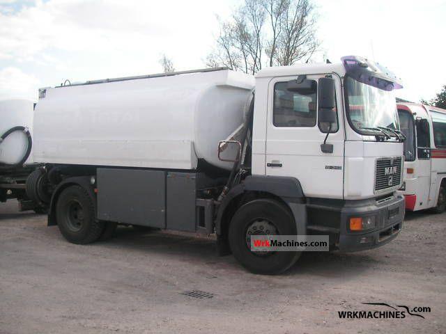 1995 MAN F 2000 19.343 Truck over 7.5t Tank truck photo