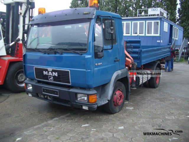 2000 MAN L 2000 10.224 Truck over 7.5t Three-sided Tipper photo