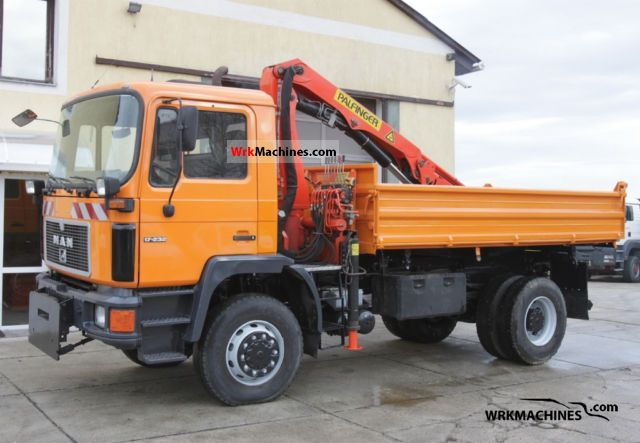 1995 MAN M 90 17.222 Truck over 7.5t Three-sided Tipper photo