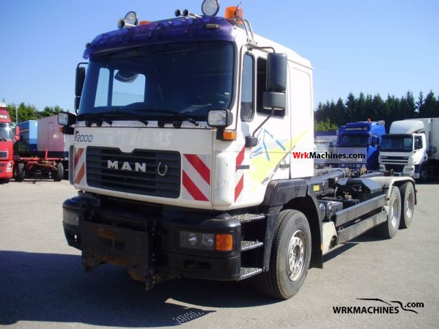 1999 MAN F 2000 27.403 Truck over 7.5t Roll-off tipper photo