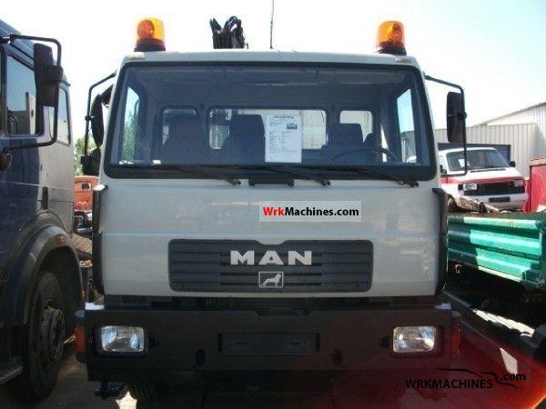 2001 MAN L 2000 220 Truck over 7.5t Tipper photo