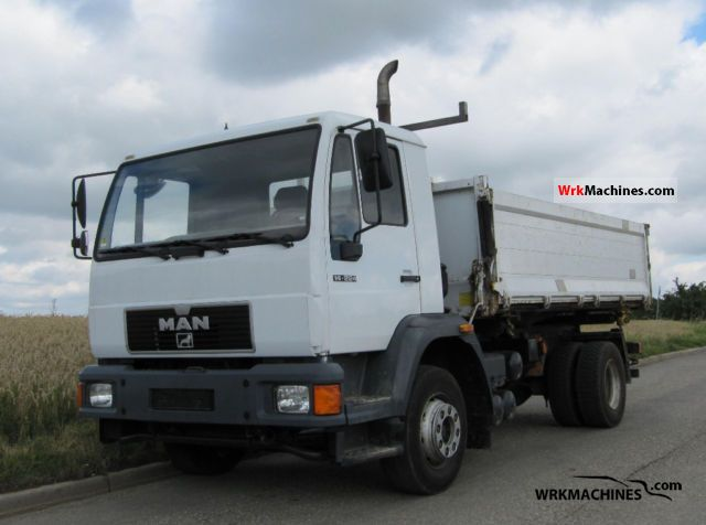 2000 MAN M 2000 L 14.224 Truck over 7.5t Three-sided Tipper photo