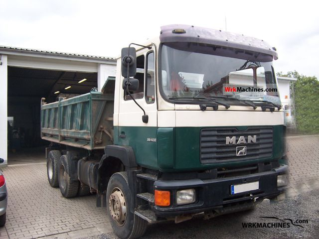 1993 MAN F 90 26.422 Truck over 7.5t Three-sided Tipper photo