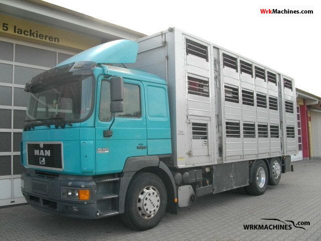1997 MAN F 2000 26.463 Truck over 7.5t Horses photo