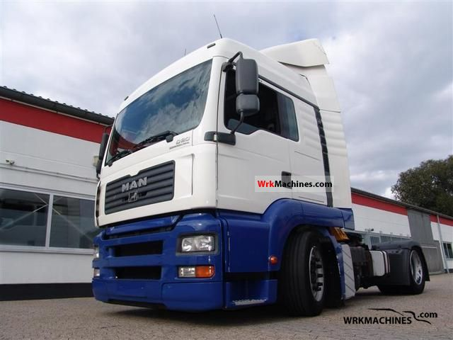 2006 MAN TGA 18.430 Semi-trailer truck Volume trailer photo