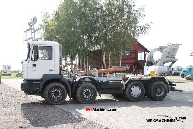 2003 MAN TGA 35.360 Truck over 7.5t Cement mixer photo