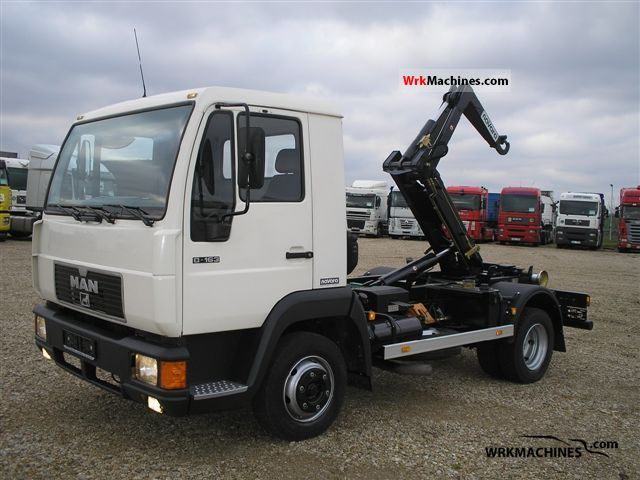 2000 MAN L 2000 8.163 Truck over 7.5t Roll-off tipper photo
