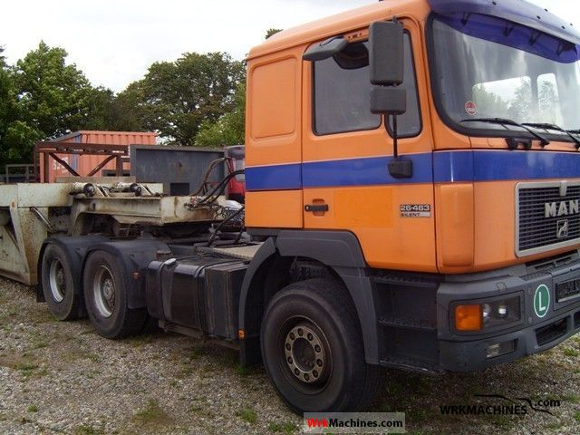1998 MAN F 2000 26.463 Semi-trailer truck Standard tractor/trailer unit photo