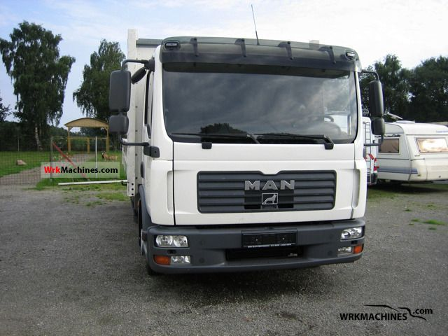 2006 MAN TGL 8.180 Truck over 7.5t Stake body photo