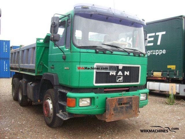 1994 MAN F 90 26.372 Truck over 7.5t Three-sided Tipper photo