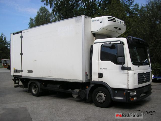 2007 MAN TGL 7.180 Van or truck up to 7.5t Refrigerator body photo