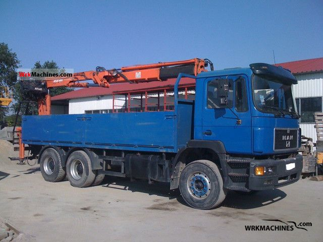 1994 MAN F 90 26.422 Truck over 7.5t Stake body photo