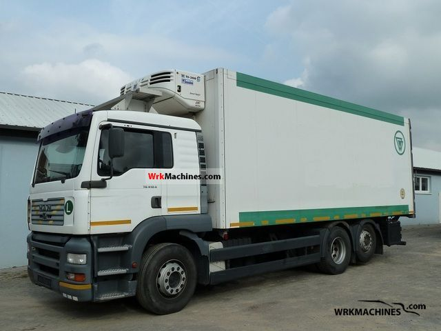 2001 MAN TGA 26.410 Truck over 7.5t Refrigerator body photo