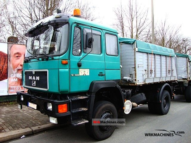 1994 MAN F 90 19.422 FAK Truck over 7.5t Grain Truck photo