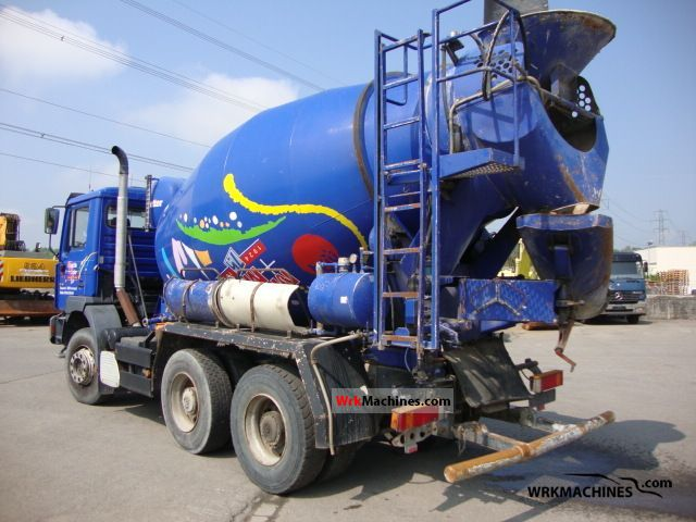 1999 MAN NG 263 Truck over 7.5t Cement mixer photo