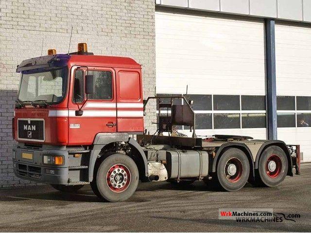 1998 MAN F 2000 26.463 Semi-trailer truck Other semi-trailer trucks photo