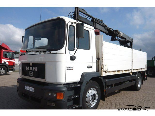 1997 MAN M 2000 L 18.264 Truck over 7.5t Truck-mounted crane photo