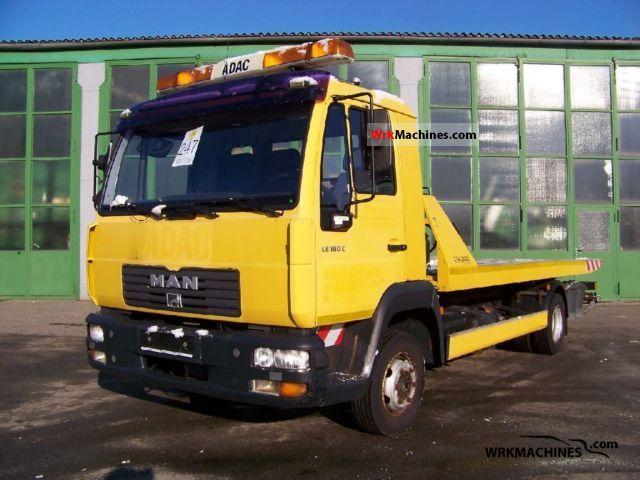 2002 MAN L 2000 8.185 Van or truck up to 7.5t Breakdown truck photo