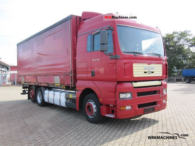 2006 MAN TGA 26.440 Truck over 7.5t Stake body and tarpaulin photo