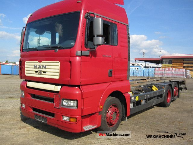 2006 MAN TGA 26.440 Truck over 7.5t Swap chassis photo