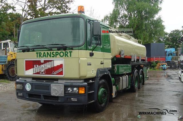 1996 MAN F 2000 26.403 Truck over 7.5t Tank truck photo