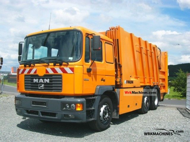 2001 MAN EL 262 Truck over 7.5t Refuse truck photo