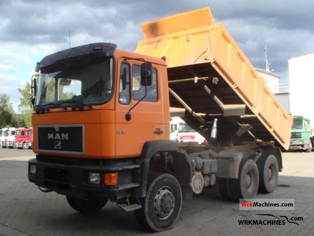 1995 MAN LION´S STAR 422 Truck over 7.5t Tipper photo