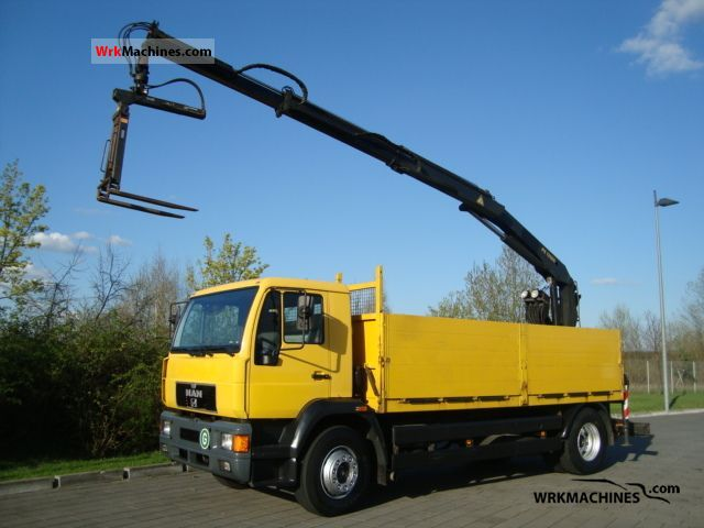 2000 MAN M 2000 L 280 Truck over 7.5t Stake body photo