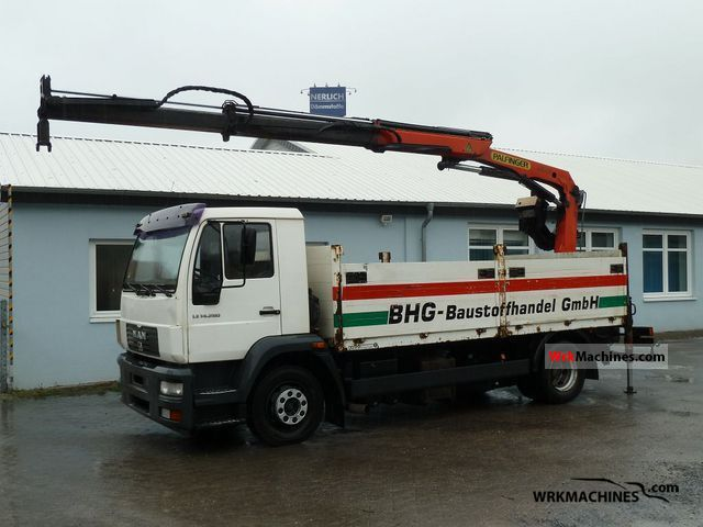 2003 MAN M 2000 L 280 Truck over 7.5t Truck-mounted crane photo