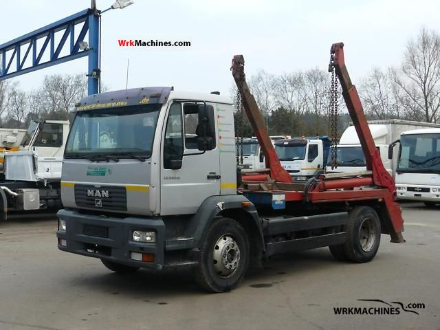 2002 MAN M 2000 L 280 Truck over 7.5t Dumper truck photo