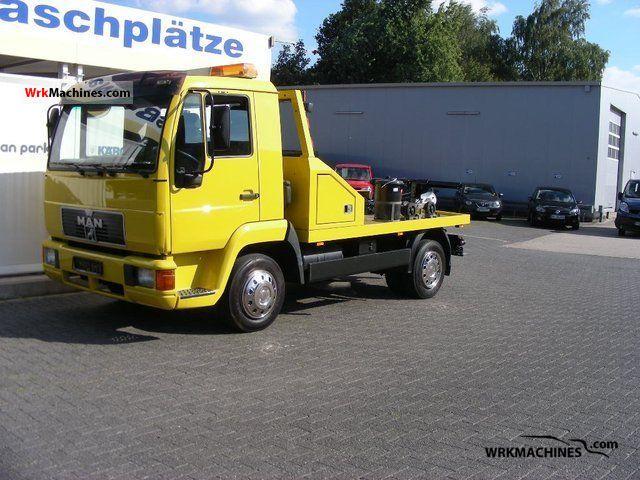 1999 MAN L 2000 8.113 Van or truck up to 7.5t Breakdown truck photo