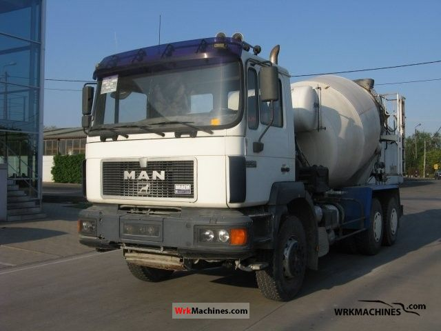 1997 MAN F 2000 27.343 Truck over 7.5t Cement mixer photo