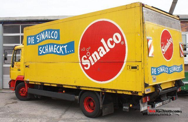 2004 MAN EM 222 Truck over 7.5t Beverage photo