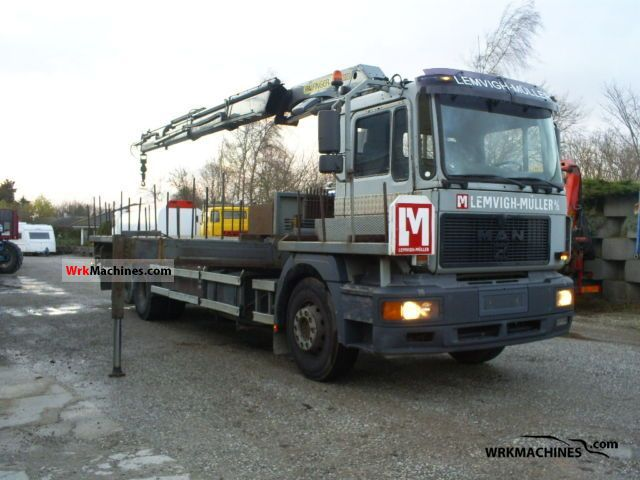 1999 MAN F 2000 26.343 Truck over 7.5t Stake body photo