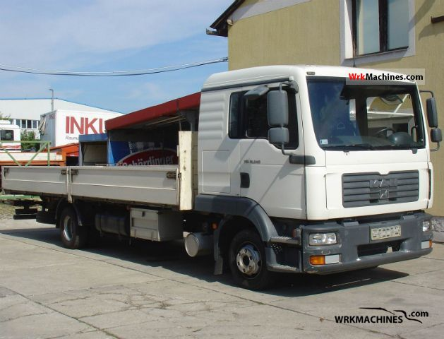 2006 MAN TGL 12.240 Truck over 7.5t Stake body photo