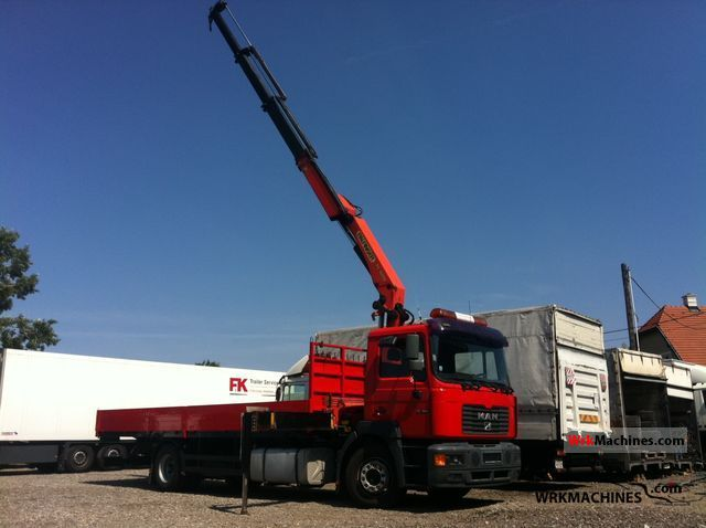 2000 MAN F 2000 19.364 Truck over 7.5t Truck-mounted crane photo
