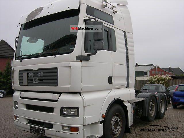 2005 MAN TGA 26.430 Semi-trailer truck Standard tractor/trailer unit photo