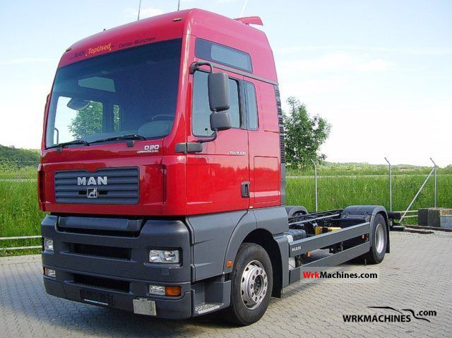 2005 MAN TGA 18.430 Truck over 7.5t Swap chassis photo