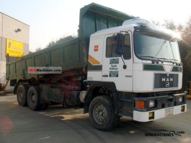 1993 MAN ÜL 322 Truck over 7.5t Tipper photo