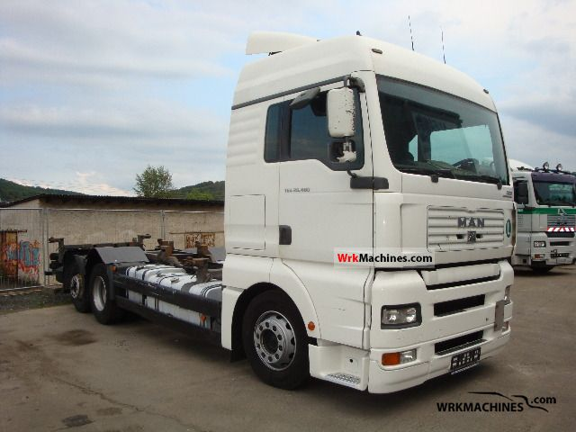 2006 MAN TGA 26.400 Truck over 7.5t Swap chassis photo