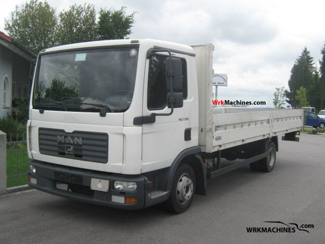 2006 MAN TGL 7.150 Van or truck up to 7.5t Stake body photo